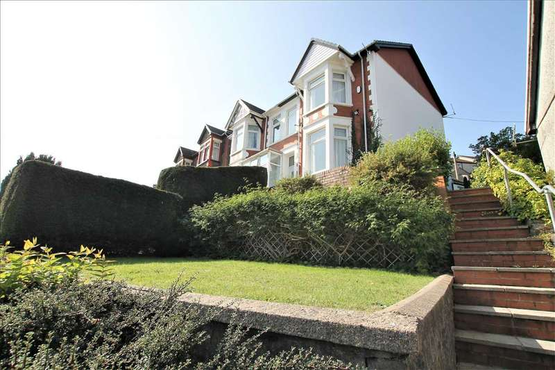 4 Bedrooms Semi Detached House for sale in Aberrhondda Road, Porth