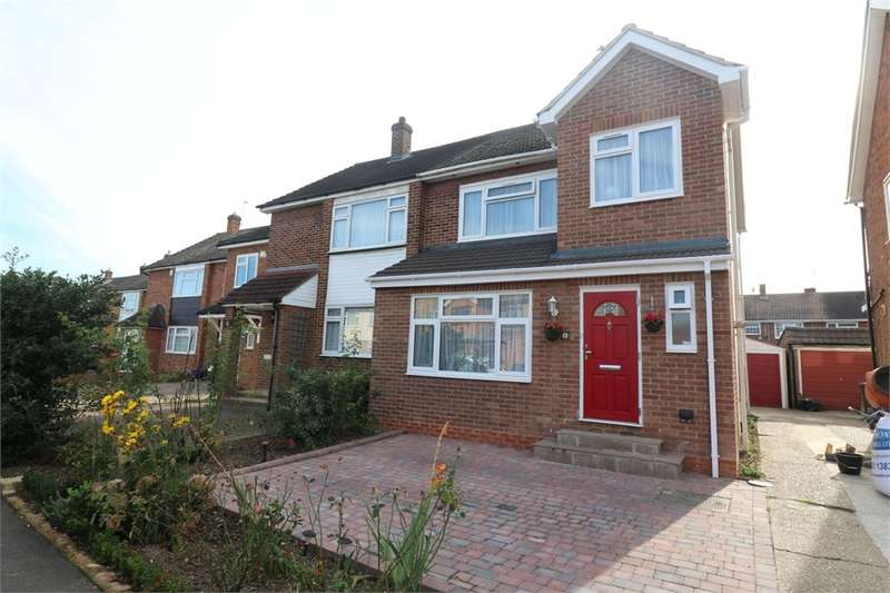 3 Bedrooms Semi Detached House for sale in Martins Drive, Cheshunt, Waltham Cross, Hertfordshire