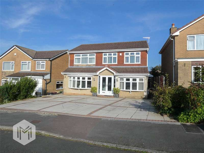 4 Bedrooms Detached House for sale in Whiting Grove, Bolton, Greater Manchester, BL3