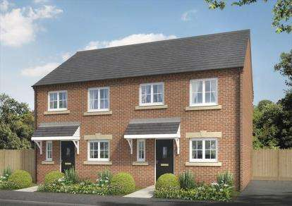 3 Bedrooms Semi Detached House for sale in Meadow Rise, Heighington, Newton Aycliffe, County Durham