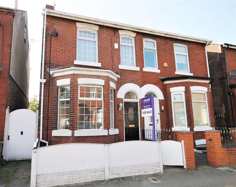 3 Bedrooms Semi Detached House for sale in Cannon Street, Eccles, Manchester