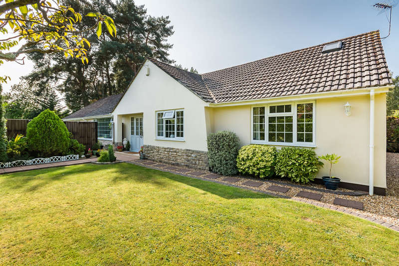 4 Bedrooms Detached Bungalow for sale in Bushmead Drive, Ashley Heath, Ringwood