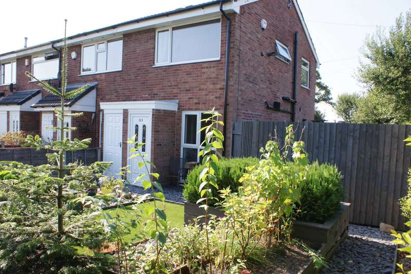 2 Bedrooms End Of Terrace House for sale in New Lane, Harwood