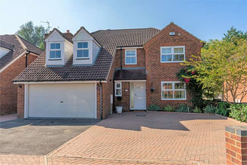 5 Bedrooms Detached House for sale in 11 Fountains Close, Willesborough Lees. Ashford, Kent, TN24 0TH