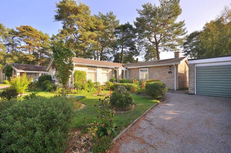 3 Bedrooms Detached Bungalow for sale in Ashley Park, Ringwood, BH24 2HA