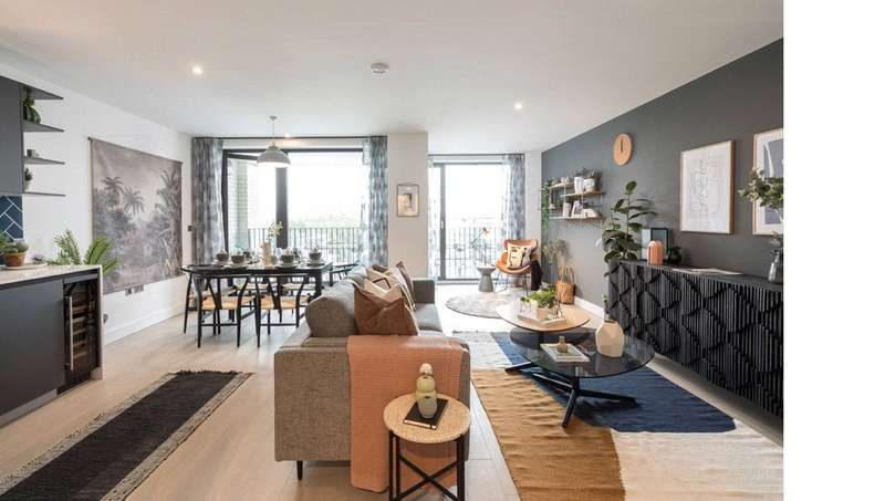 2 Bedrooms Apartment Flat for sale in Shoreditch Exchange, Hackney Road,, London, E2