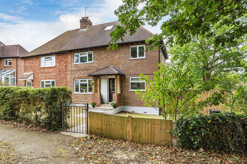 4 Bedrooms Semi Detached House for sale in Chequers Hill, Bough Beech, TN8