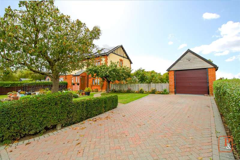 4 Bedrooms Semi Detached House for sale in Brook House Cottage, Brook House Road, Great Tey, Colchester, CO6