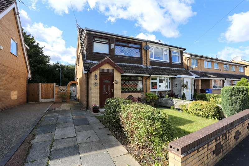 3 Bedrooms Semi Detached House for sale in Bradfield Close, Reddish, Stockport, SK5