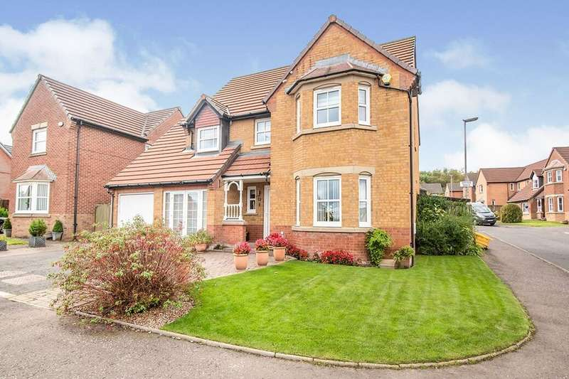 4 Bedrooms Detached House for sale in Sandhead Terrace, Blantyre, G72