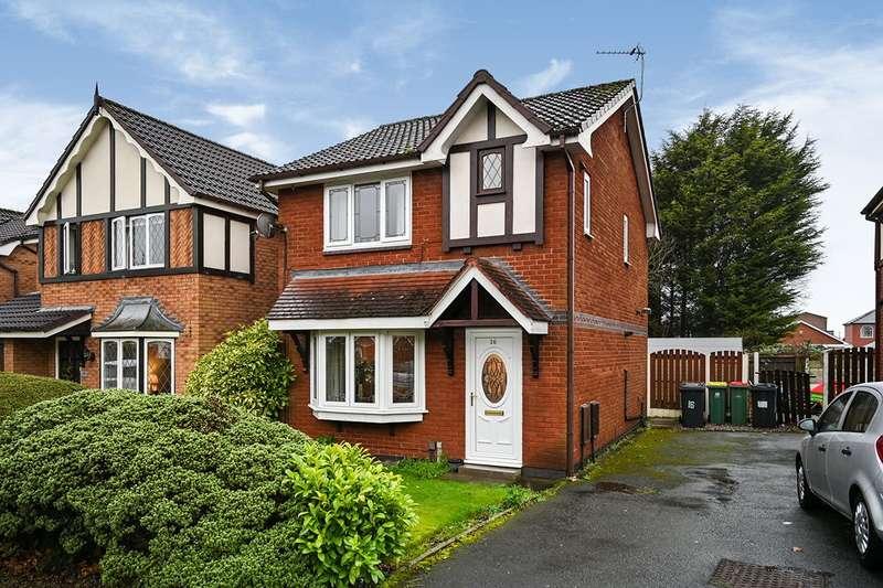 3 Bedrooms Detached House for sale in Dovedale Close, Ingol, Preston, Lancashire, PR2