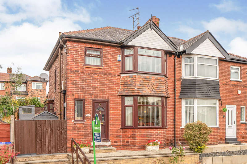 3 Bedrooms Semi Detached House for sale in Hallwood Avenue, Salford, M6