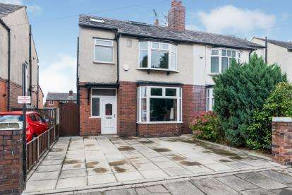 3 Bedrooms Semi Detached House for sale in Oakleigh Avenue, Greater Manchester, Bolton, Greater Manchester, BL3