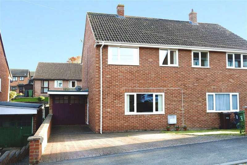 3 Bedrooms Semi Detached House for sale in Nasse Court, Cam, GL11