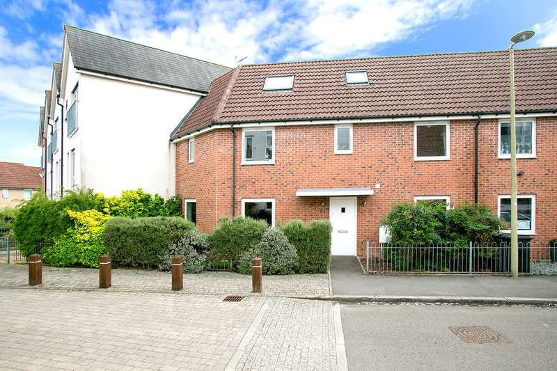 5 Bedrooms Terraced House for sale in Charlbury Lane, Merton Rise, Basingstoke, RG24