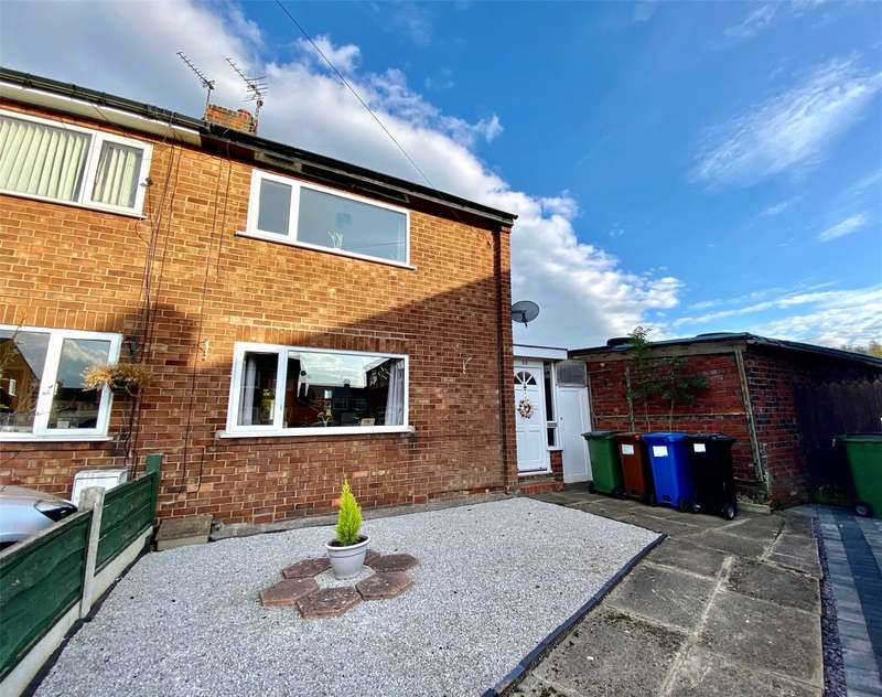 2 Bedrooms Semi Detached House for sale in Brookfield Avenue, Offerton, Stockport, SK1