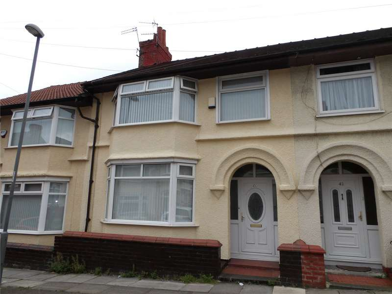 4 Bedrooms Terraced House for sale in Feltwell Road, Liverpool, Merseyside, L4