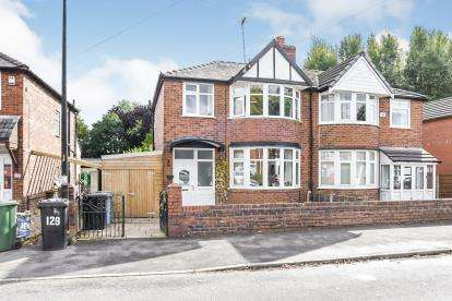3 Bedrooms Semi Detached House for sale in Rye Bank Road, Firswood, Manchester