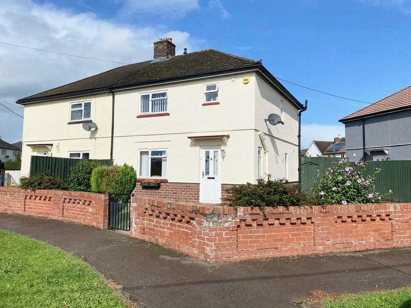 3 Bedrooms Semi Detached House for sale in Brook Crescent, Monmouth