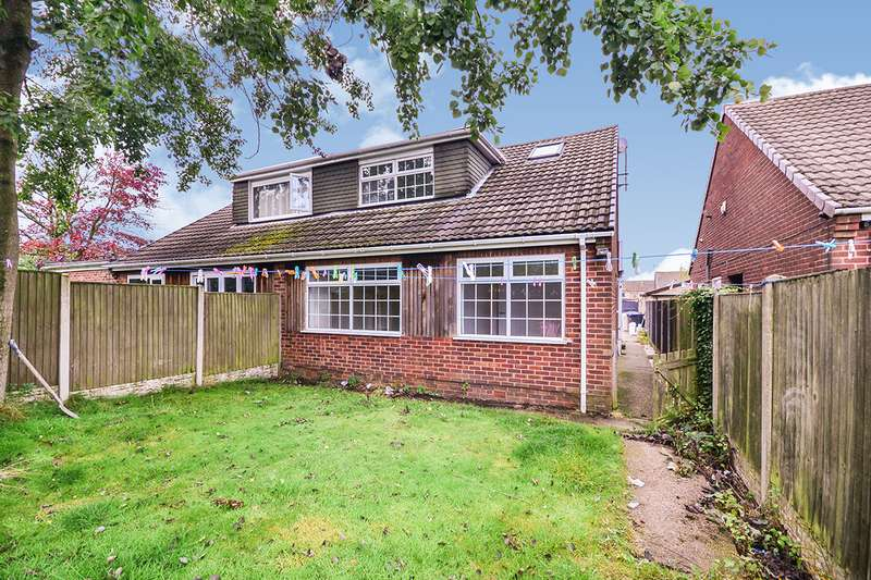 3 Bedrooms Semi Detached Bungalow for sale in Richmond Road, Kirkby-in-Ashfield, Nottingham, NG17