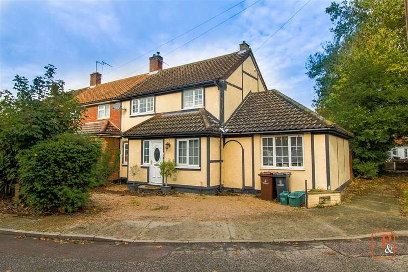 4 Bedrooms Semi Detached House for sale in Pebmarsh Close, Colchester