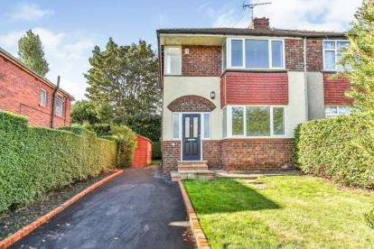 3 Bedrooms Semi Detached House for sale in Willbury Drive, Sheffield, South Yorkshire