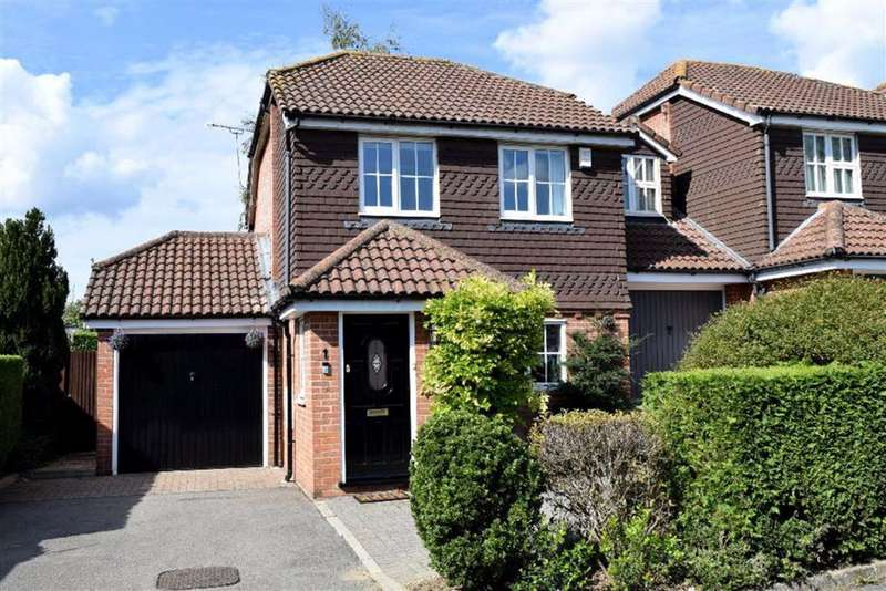3 Bedrooms Detached House for sale in Careys Field, Dunton Green, TN13
