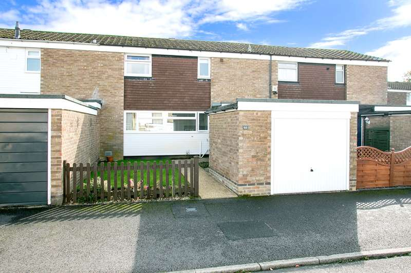 3 Bedrooms Terraced House for sale in Cleveland Close, Basingstoke, RG22