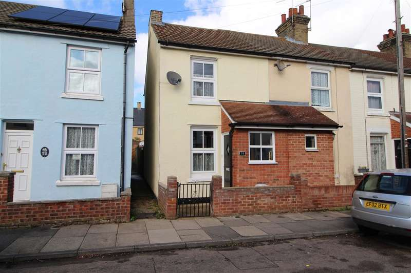3 Bedrooms End Of Terrace House for sale in Lisle Road, New Town, Colchester CO2