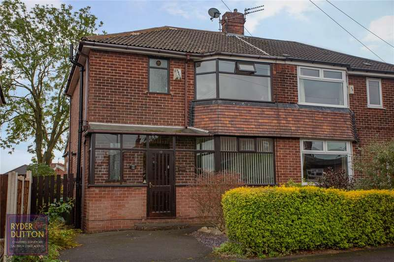 3 Bedrooms Semi Detached House for sale in Crescent Road, Chadderton, Oldham, OL9