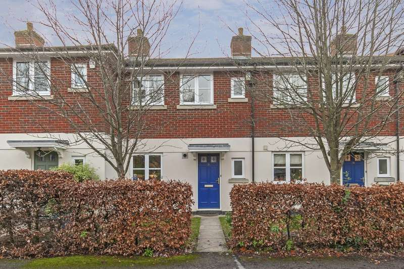3 Bedrooms Terraced House for sale in Cornes Close, Fulflood, Winchester, SO22