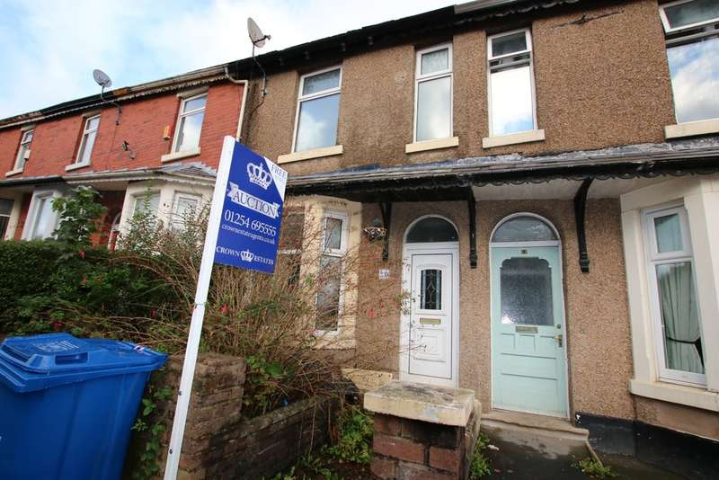 3 Bedrooms Terraced House for sale in Albany Road, Revidge, Blackburn