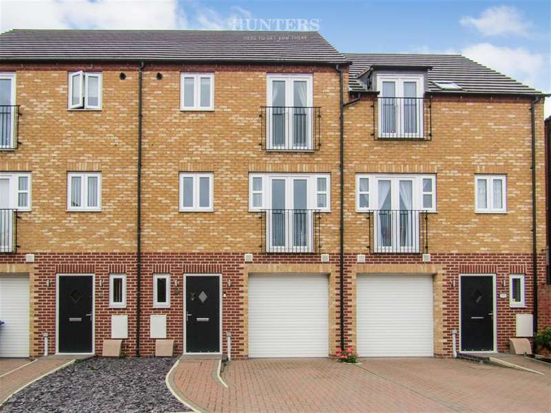 3 Bedrooms Town House for sale in Northolme View, Gainsborough, DN21 2EY