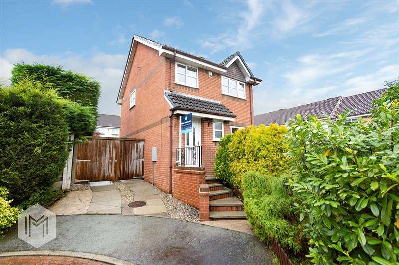 3 Bedrooms Detached House for sale in Bidston Close, Bury, Lancashire, BL8