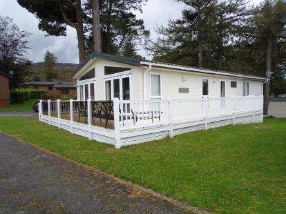 2 Bedrooms Bungalow for sale in Brynteg Holiday Park, Llanrug, Caernarfon, LL55