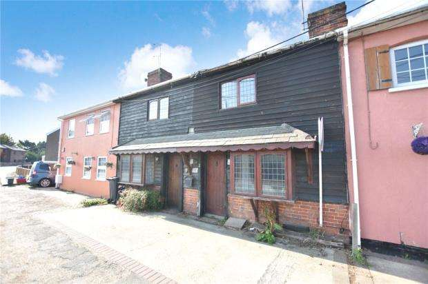 2 Bedrooms Terraced House for sale in Nursery Cottages, Clacton Road, Weeley Heath