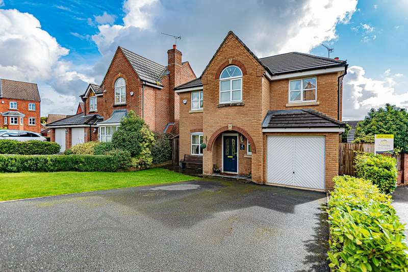 4 Bedrooms Detached House for sale in Colliers Grove, Atherton, Manchester