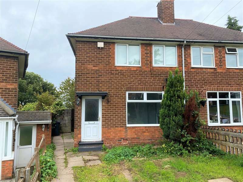 2 Bedrooms Semi Detached House for rent in The Riddings, Stechford, Birmingham