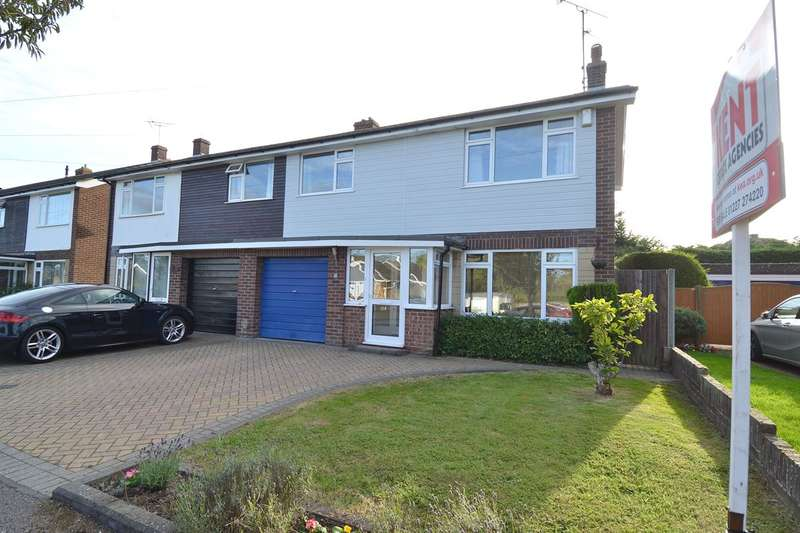 3 Bedrooms Semi Detached House for sale in Oakwood Drive, Tankerton, Whitstable
