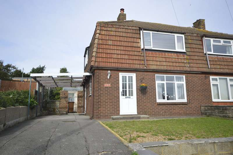 2 Bedrooms Semi Detached House for sale in Knights Road, Hoo, Rochester, Kent, ME3