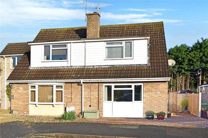 3 Bedrooms Semi Detached House for sale in Nixon Court, Callow End, Worcester