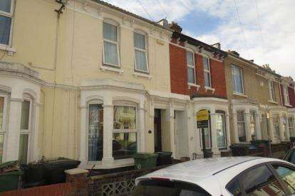 Terraced House for sale in Southsea, Hampshire