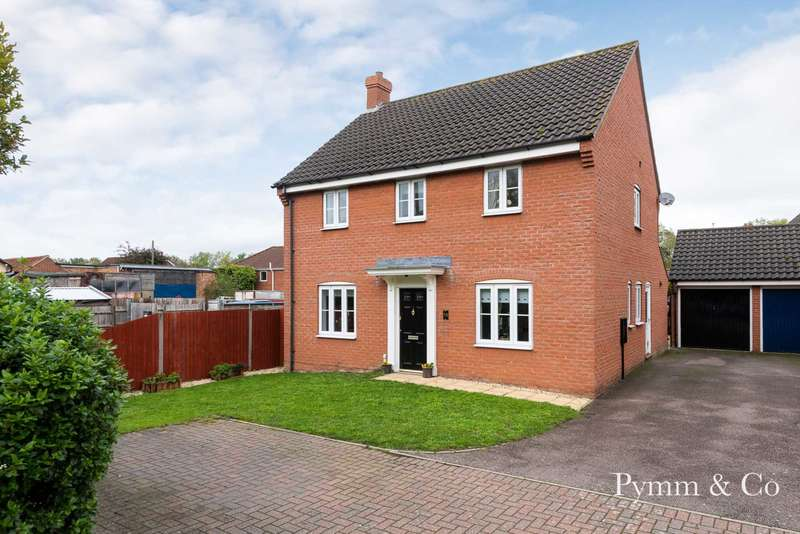 4 Bedrooms Detached House for sale in Dereham Road, Easton