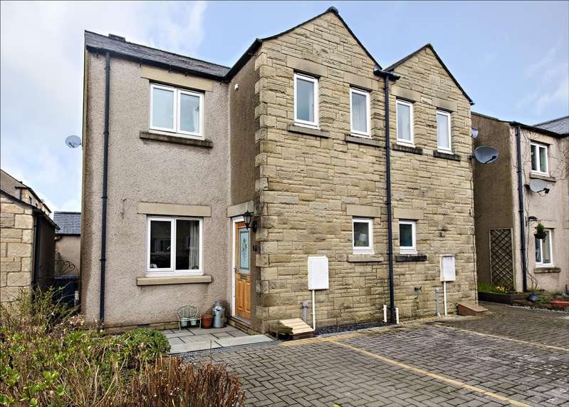 3 Bedrooms Semi Detached House for sale in 7 Green Meadow Close, Ingleton