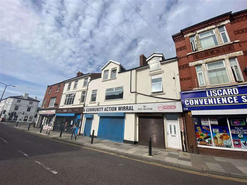4 Bedrooms Flat for rent in Liscard Road, Wallasey, Merseyside