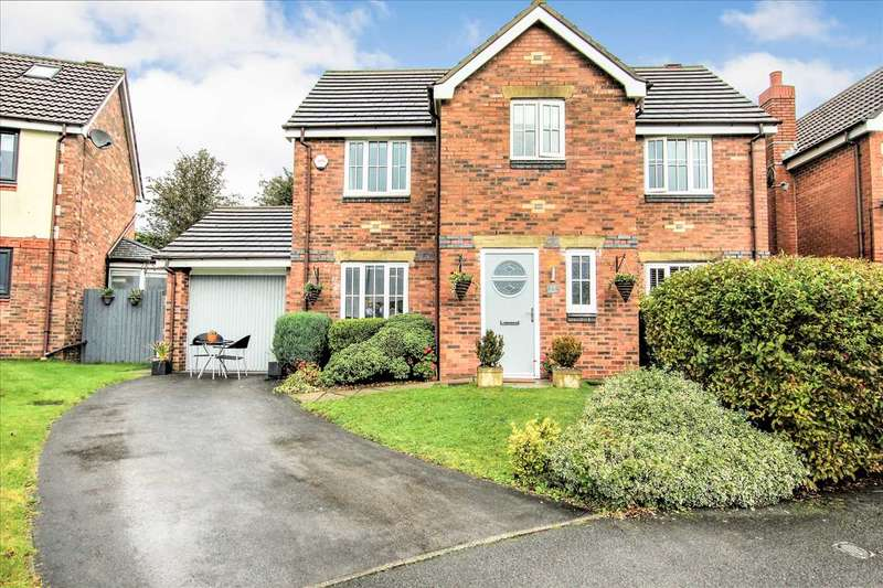 4 Bedrooms Detached House for sale in Corner Brook, Lostock, Bolton