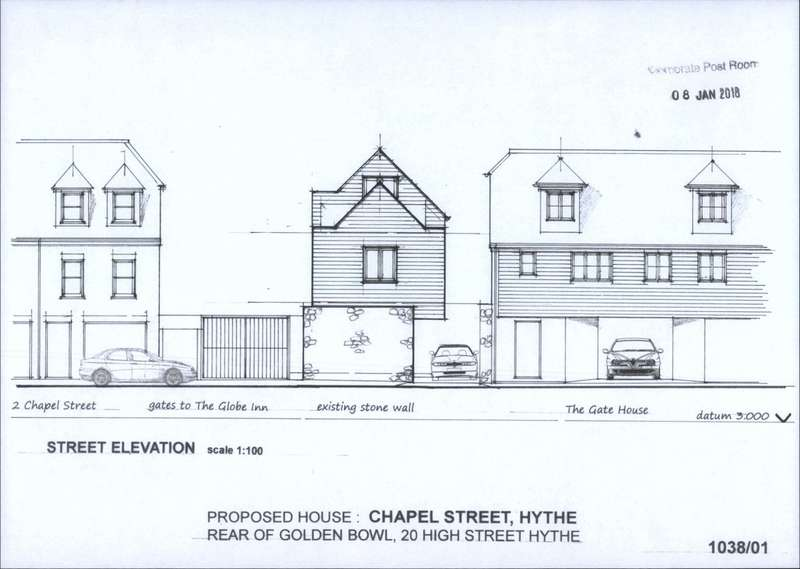 2 Bedrooms Land Commercial for sale in Chapel Street, Hythe, CT21