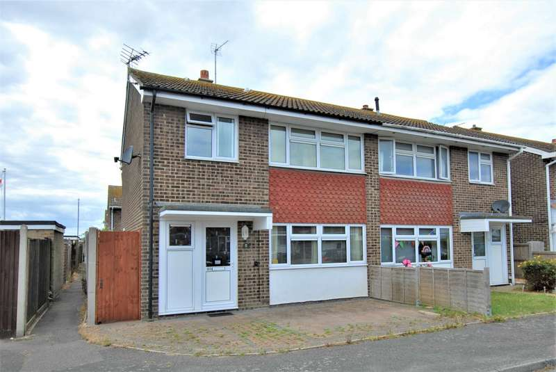 3 Bedrooms Semi Detached House for sale in Grassmere, St Marys Bay, TN29