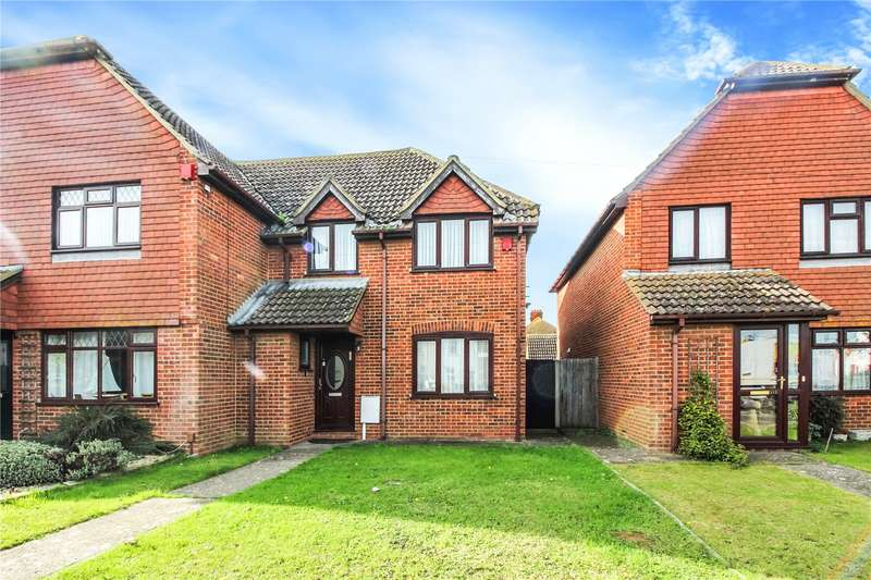3 Bedrooms Semi Detached House for sale in Grovehurst Road, Kemsley, Sittingbourne, ME10