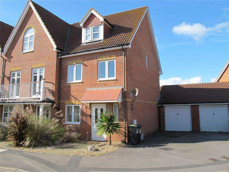 3 Bedrooms Semi Detached House for sale in Magister Drive, Lee-On-The-Solent, Hampshire, PO13